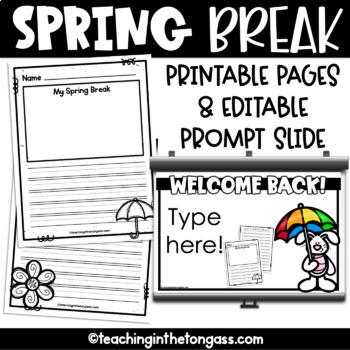 Spring Writing Paper Free