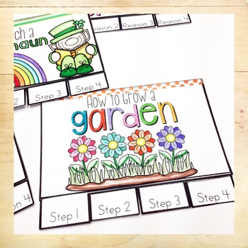 Spring Writing Prompt Booklets