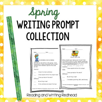 Spring Writing Prompt Collection - NO PREP