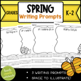 Spring Writing Prompts- Print & Go, NO Prep!