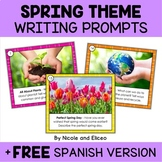 Spring Writing Prompt Task Cards