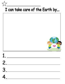 Spring Writing Prompt Templates - Kites, Earth Day and more!
