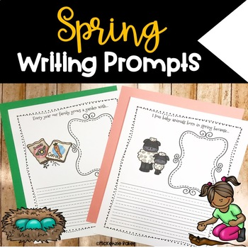 Spring Writing Prompts {15 Prompts}