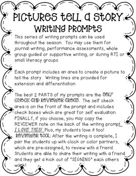 Spring Writing Prompts (Series)
