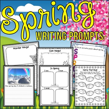 Spring Writing Prompts | Spring Writing Activities | Writing Center