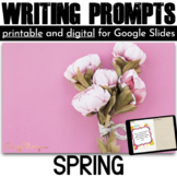 Spring Writing Prompts {72 cards}