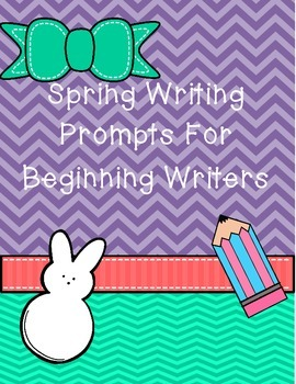 Spring Writing Prompts {Beginning Writers}