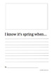 Spring Writing Prompts Collection