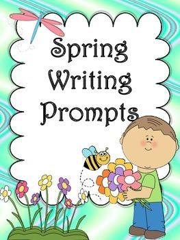 Spring Writing Prompts Freebie