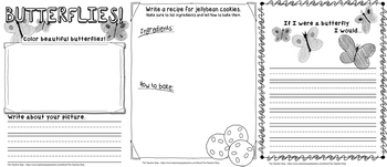 Spring Writing Prompts - Grades 3 - 5 {The Teacher Stop}