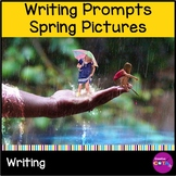 Spring Writing Prompts Inferencing with Pictures