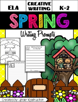 Spring Writing Prompts-No Prep