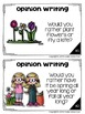 Spring Writing Prompts: Opinion, Informative, Narrative: K-2