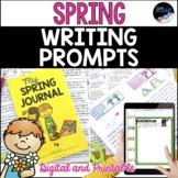 Spring Writing Prompts: Digital & Printable Spring Writing Journal