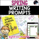 Spring Writing Prompts & Spring Writing Journal - Full Pag