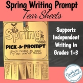 Spring Writing Prompts Tear Sheets