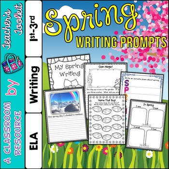 Spring Writing Prompts {UK Teaching Resource}