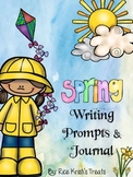 Spring Writing Prompts and Journal
