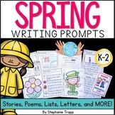 Spring Writing Prompts for Kindergarten, First Grade, and Second Grade