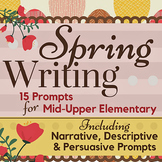 Spring Writing Prompts for Mid-Upper Elementary