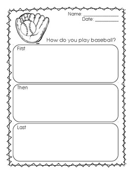 Spring Writing Prompts with Graphic Organizers