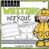 Spring Writing - St. Patrick's Day, Spring, Rabbits