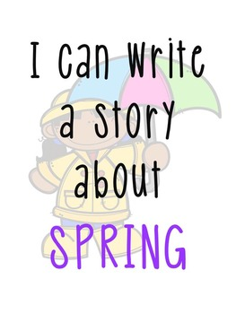 Spring Writing Station