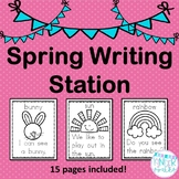 Spring Writing Station Packet