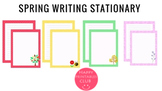Spring Writing Stationary-Writing Papers for Spring-Spring Papers