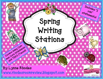 Spring Writing Stations