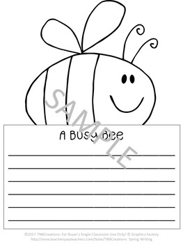 Spring Writing Story Starter Printables