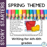 Spring Writing Story Starter Cards