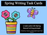 Spring Writing Task Cards - 2nd, 3rd, 4th, 5th grades