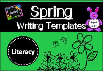 Spring Writing Templates