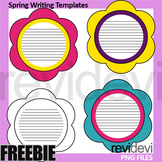 Spring Writing Templates Free