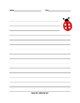 Spring Writing Themed Writing Paper