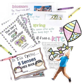 Spring Writing and Word Work Activities  | Distance Learning