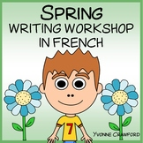 French Spring Writing Centers - Le Printemps