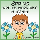Spanish Spring Writing Centers - La Primavera