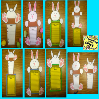 Spring Writing and Activities Art Project CRAFTIVITY April
