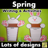 Spring Writing and Activities CRAFTIVITY