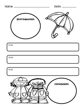 Spring Writing and Graphic Organizers