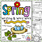Spring Writing and Word Work