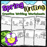 Spring Writing for Kindergarten or  First Grade