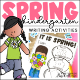 Spring Writing for Kindergarten