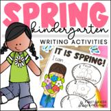 Spring Writing Activities Kindergarten | Spring Craft