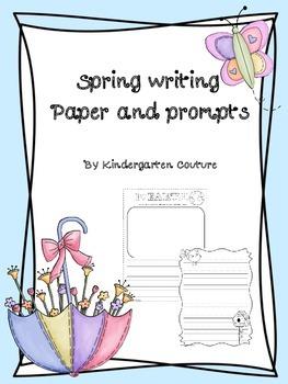 Spring Writing - freebie