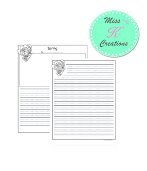 Spring Writing {templates and prompt ideas}
