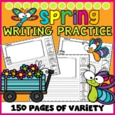 Spring Writing with Picture Word Bank