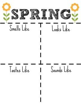 Spring Writing/Poem